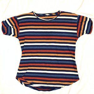 Madewell Striped Crewneck Tee Shirt S